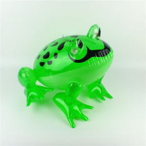 PVC or TPU Inflatable Baby Bath Small Frog Toy pictures & photos