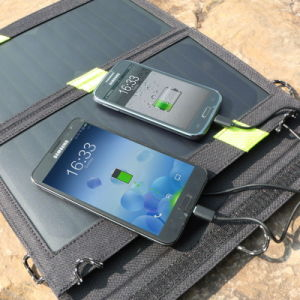 14W High Efficiency Foldable Sunpower Solar Panel Charger pictures & photos