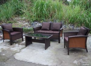 Mtc-072 Outdoor Patio Furniture Small Sofa Set/Kd pictures & photos