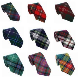 Wholesale Custom Scottish Made 100% Silk Tie in UK (A786)