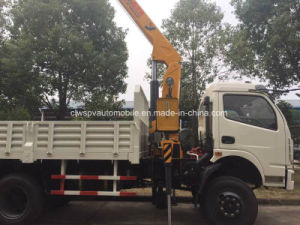 Dongfeng LHD Rhd Truck Mounted with Crane Lifting Lorry Truck pictures & photos