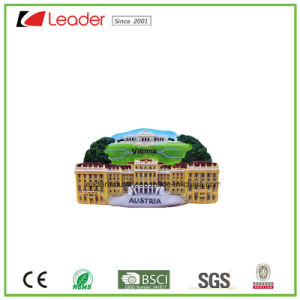 Hand Painted Polyresin Souvenir Decorative Refrigerator Magnets with Buildings pictures & photos