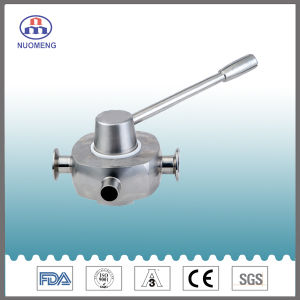 Sanitary Stainless Steel Hygienic Plug Valve pictures & photos