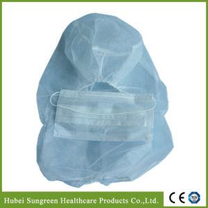 Disposable Non-Woven Balaclava Hood, Head Cover with Face Mask pictures & photos