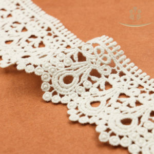 L30017 Cotton Trimming Lace Bridal Lace for Wedding Dress pictures & photos