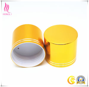 Beautiful Golden Screw Cap for Cosmetic Bottles pictures & photos