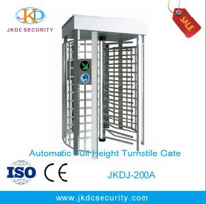 Ce Approved Fully Auto Type Full Height Turnstile pictures & photos