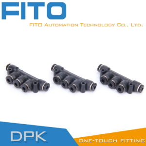 Hot Sale Plastic Fittings for Quick Connecting Tube Fittings/Pk pictures & photos