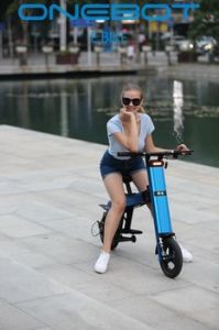 250W 8.7ah Cheap Dirt Bikes E Scooter Electric Folding Ebike pictures & photos