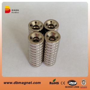 N35 Ring Neodymium Magnet with Countersunk pictures & photos