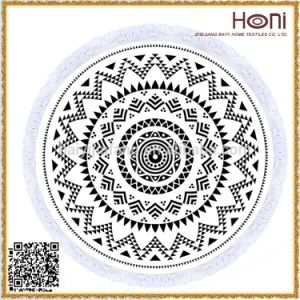China Manufacturer High Quality Custom 100% Cotton Personality Print Mandala Towel