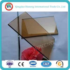 4-6mm Reflective Glass/Tinted Glass/Tempered Glass for Building pictures & photos