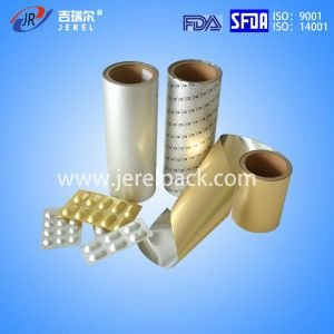 Pharmaceutical 150 Micron Cold Forming Alu Alu Foil with ISO Certificate pictures & photos