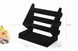 Removable Velvet Bracelet Display Stand for Jewelry pictures & photos