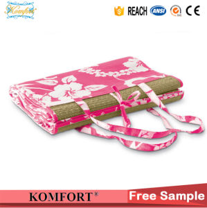 Portable Camping Picnic Straw Beach Mats Slippers Set pictures & photos