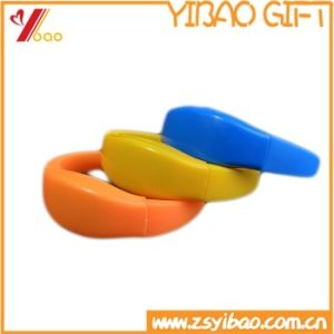 Sport Bangle Fashion Accessories Bracelet, Custom Logo Silicone Alloy Express Wholesale Bracelet pictures & photos