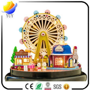 Delicate Red Custom Carousel Music Boxes, Wholesale Children Gallopers Music Box, pictures & photos