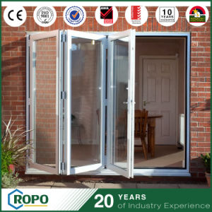 Various Colours of PVC Bi Fold Doors Double Glazed pictures & photos