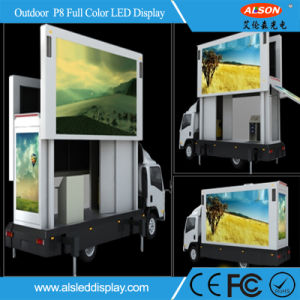 Outdoor Fixed P8 Full Color LED Display for Car Advertising pictures & photos