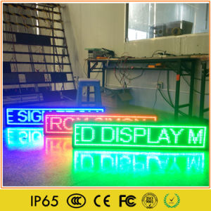 Outdoor Monochrome LED Advertising Moving Sign pictures & photos