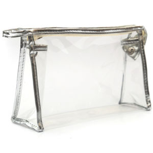 Clear Vinyl Fashion Travel Cosmetic Bag pictures & photos