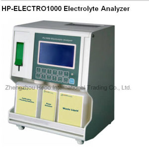 2017 Hot Selling Medcal Lab Automated Blood Gas Electrolyte Analyzer pictures & photos
