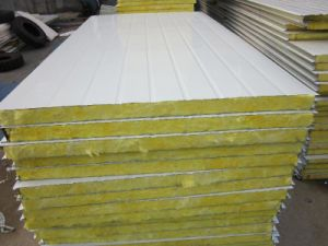 High Quality EPS PU Rockwool Glasswool Sandwich Panel pictures & photos