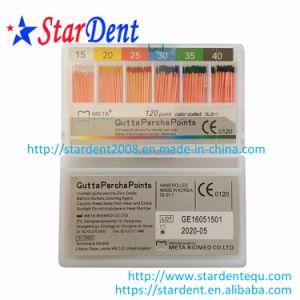 Original Meta Dental Gutta Percha Points (15-80#) Gpp 0.02 Taper 120 Point pictures & photos