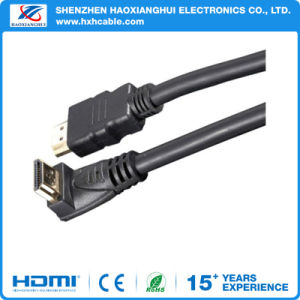 1.4V HDMI to HDMI 90° HDMI Cable pictures & photos