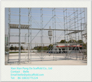 Zds Hot DIP Galvanized Ringlock Scaffolding pictures & photos
