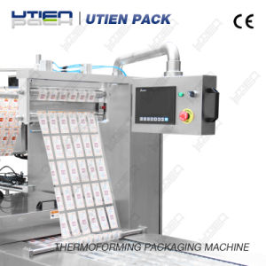 Automatic Corn Kernel Niblet Thermoforming Vacuum Packaging Machine pictures & photos