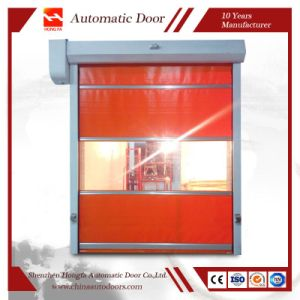 PVC Industrial High Speed Roll up Door with Ce Certification (HF-K05) pictures & photos
