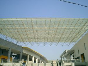 Steel Structure Grid Structural for Commercial Steel Roofings pictures & photos