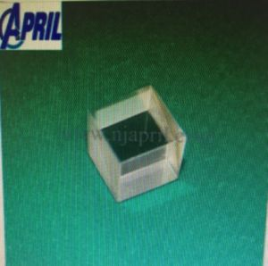 UV Fused Silica Optical Prism, Beam Splitter Glass, Cube Prism pictures & photos