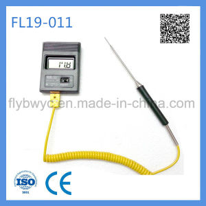 Needle K Type Temperature Sensor with Plug for Food Prcessing  pictures & photos