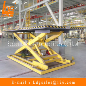 5ton Stationary Hydraulic Scissor Lifting Platform (SJG5-1.5)