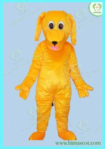 2012 Yellow Dog Cartoon Mascot (HI0107042A)