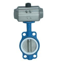 Kst Pneumatic Butterfly Valve (Wafer)