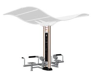 Nscc-Outdoor Fitness Equipment - Double Column Waist & Abdomen Trainer (JMB-10XO) pictures & photos
