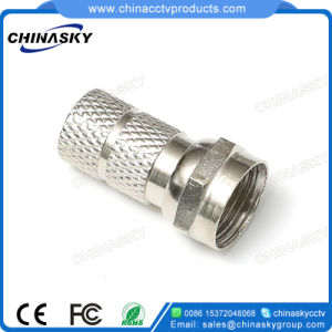 Twist-on Male F Connector for CCTV Camera System (CT5076) pictures & photos