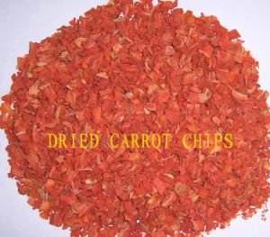Dried Carrot Chips
