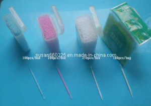 Dental Angle Food Grade PP Plastic Toothpick (I-75-1) pictures & photos