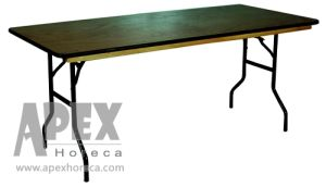 Hotel Furniture-Steel Folding Table (AT9022W) pictures & photos