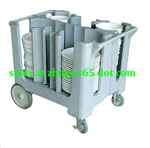 Adjustable Dish Plate Cart Caddy
