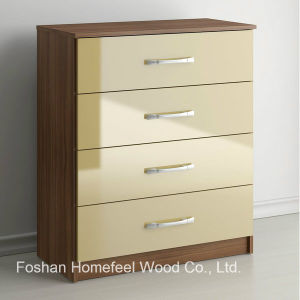 UV High Glossy Bedroom Furniture 4 Drawer Chest Dresser (HC21) pictures & photos