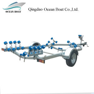 Dyz550r Low Price High Quality Boat Trailer for 5.8m Boat pictures & photos
