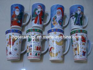 Christmas Pringting Mug, 16oz Ceramic Mug pictures & photos
