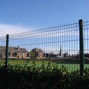 Frame Fence Netting/Round Tube Wire Mesh Fence
