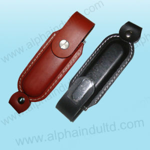 Classic Leather USB Flash Drive (ALP-027U) pictures & photos