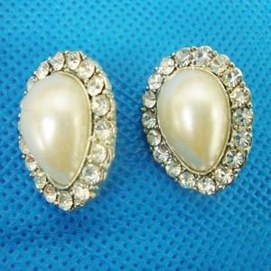Rhine Stone Earring--Fashion Jewelry (AD-001)